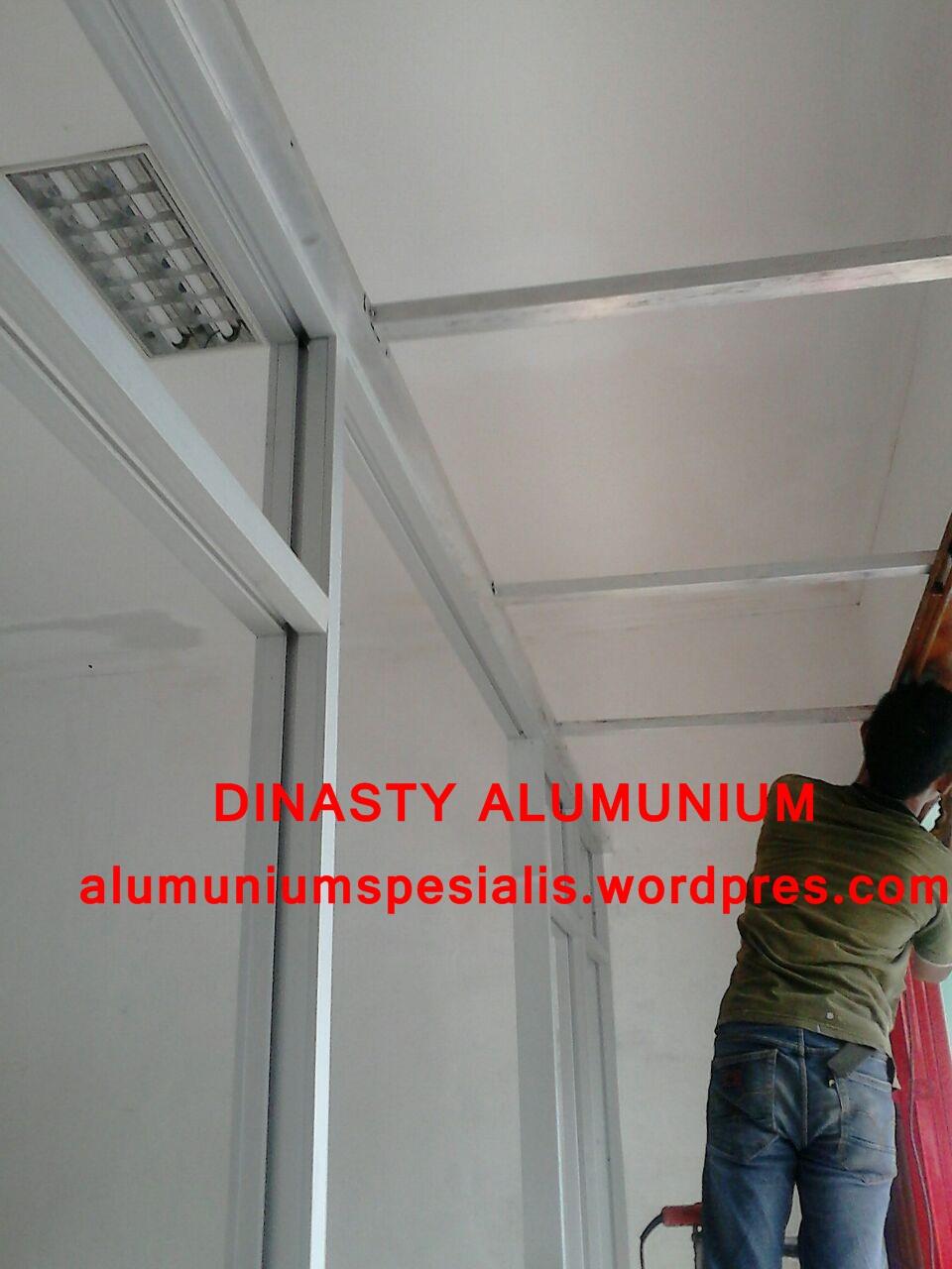 Jasa borongan aluminium Dinasty Alumunium